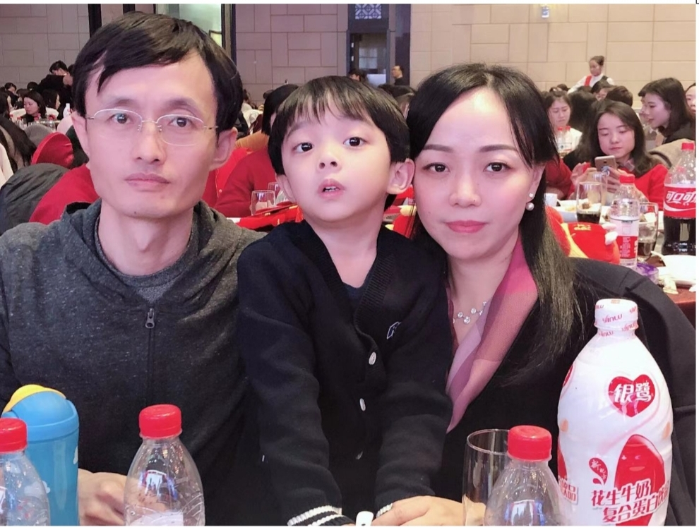 Jianxi and Yun Feng from China